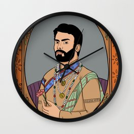 Fawad Khan Wall Clock