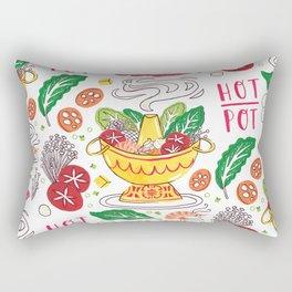 Hot Pot Shabu Shabu Soup Rectangular Pillow