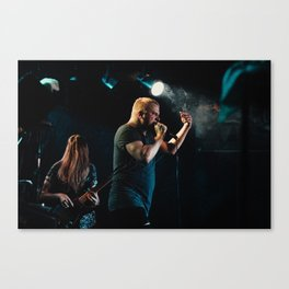 Say Anything at Chameleon Club Canvas Print