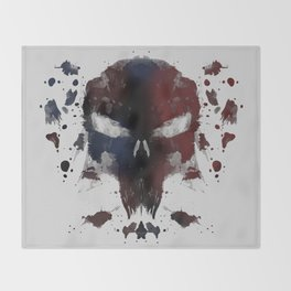 Ink Devil Throw Blanket