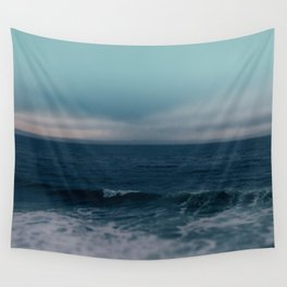 Blue California Ocean Wall Tapestry