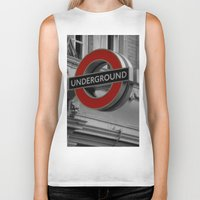 velvet underground Biker Tanks featuring Underground by itsthezoe