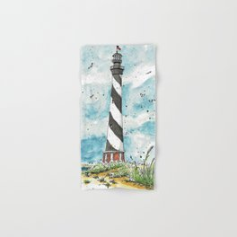 Cape Hatteras Lighthouse Hand & Bath Towel