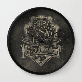 Gryffindor House Wall Clock