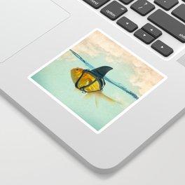 Brilliant Disguise Goldfish Sticker