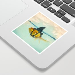 Brilliant Disguise Goldfish Sticker