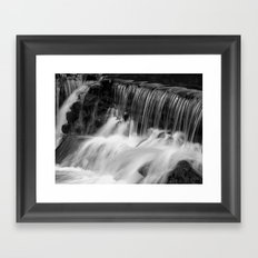 Waterfalls Framed Art Print