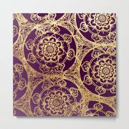 Mandala Luxe Metal Print