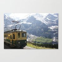 train Canvas Prints featuring Train by Kakel-photography