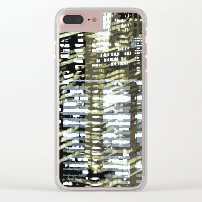 Night City 2 Clear iPhone Case