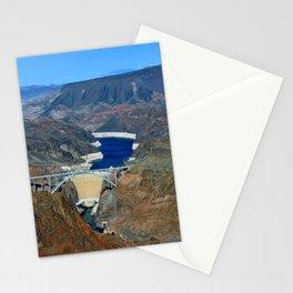 Hoover Dam Pat Tillman Bridge Arizona Nevada America Stationery Cards