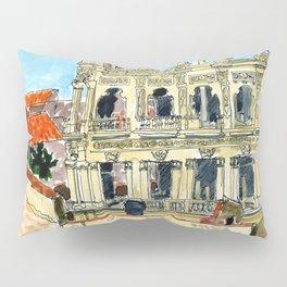 Hotel Shell in Habana Vieja, Cuba Pillow Sham