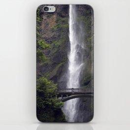 multnomah falls bridge iPhone Skin