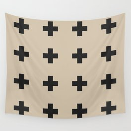 plus sign –tan (can pair with bonfire) Wall Tapestry