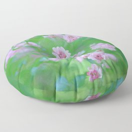 Tiny Pink Expressions Floor Pillow