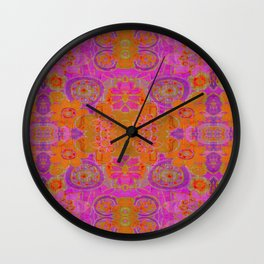 Choose Peace Batik Wall Clock