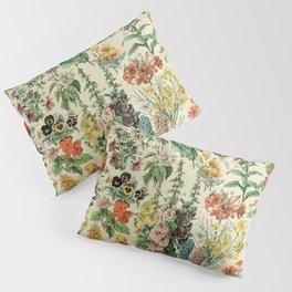 Adolphe millot Fleurs A Pillow Sham