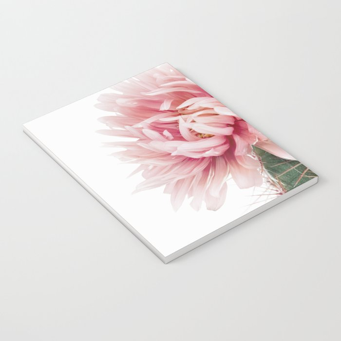 Pink Cactus Flower Notebook