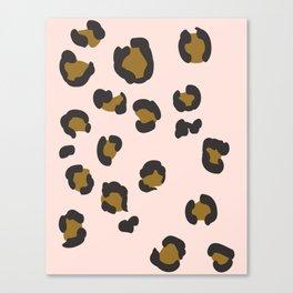 SEEING SPOTS - BLUSH Canvas Print