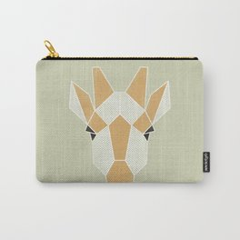 Graphic Giraffe Carry-All Pouch