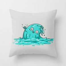 Waving Throw Pillow