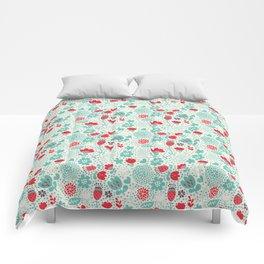 Floral owls Comforters