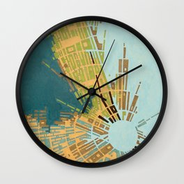 cypher number 11 (ORIGINAL SOLD). Wall Clock