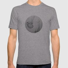 Descending Jellies Mens Fitted Tee Athletic Grey SMALL
