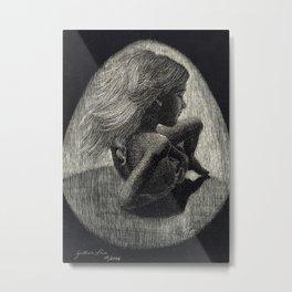 Girl Reborn Metal Print