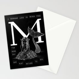M is for Merrow Stationery Cards