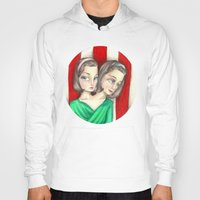 ahs Hoodies featuring Bette and Dot Tattler (AHS) by Guilherme Mauad