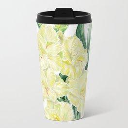 Gladiolus Metal Travel Mug