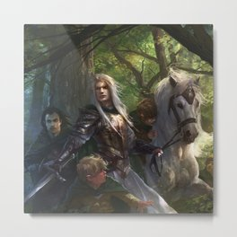Glorfindel Metal Print