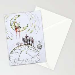 The Madness of the Moon Stationery Cards