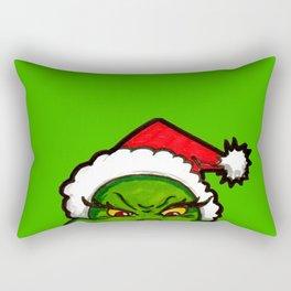 How Grinchy! Rectangular Pillow