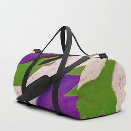 Eggplant Fun Duffle Bag