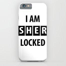 sherlocked iPhone Case