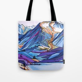 Alyeska Allure Tote Bag