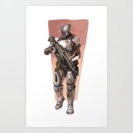 battle ready Art Print
