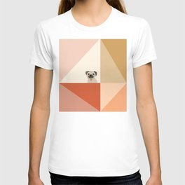 Little_PUG_LOVE_Minimalism_001 T-shirt