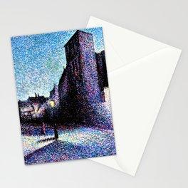 Maximilien Luce - Rue Ravignan, Paris - Digital Remastered Edition Stationery Cards