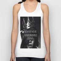 crown Tank Tops featuring Crown by I Love Decor