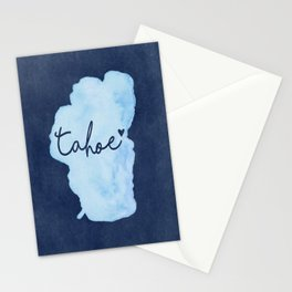 True Blue Stationery Cards