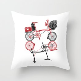 Brompton x Brompton Throw Pillow