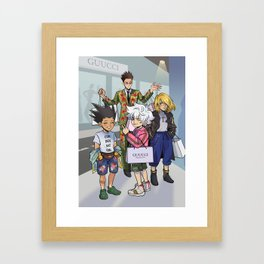 Fashion Disasters Framed Art Print