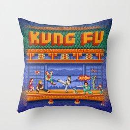 Fu Kung Throw Pillow