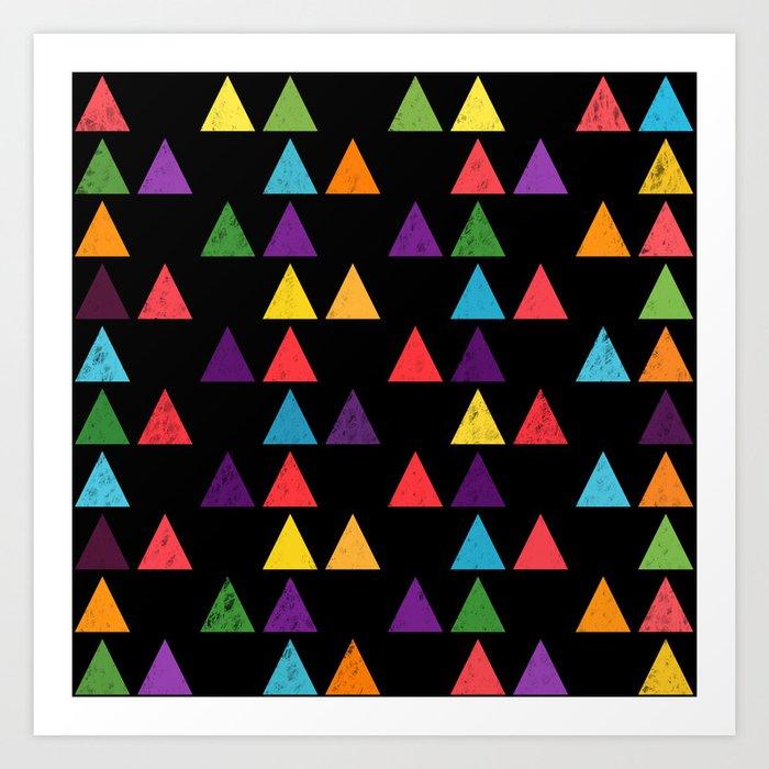 Lovely geometric Pattern XIII Art Print