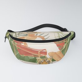 The Lady and the Tiger II Fanny Pack