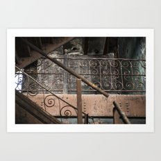 Brew House stairs Art Print