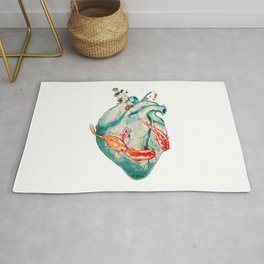 Koi heart Rug